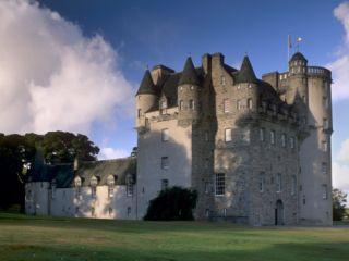 Castle Fraser, a 16th Century Castle, the Grandest of the Castles of Mar, Aberdeenshire, Scotland Photographic Print by Patrick Dieudonne