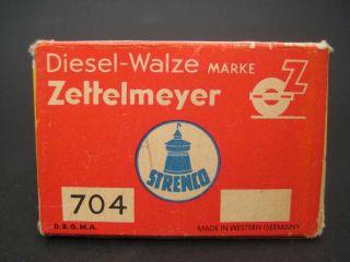Strenco 704 Diesel Walze Zettelmeyer im OK Mint/Museal