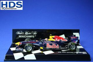 Red Bull Racing Renault RB7 M. Webber 2011 Minichamps 143 NEU OVP TOP