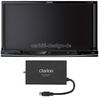 CLARION NX702E DOPPEL DIN NAVIGATION Radio DVB T Tuner 7 TFT Monitor