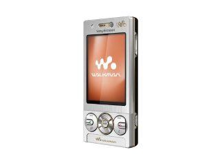 Sony Ericsson Walkman W705   Luxury Silver Ohne Simlock Handy