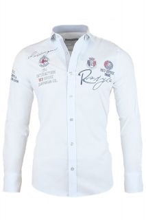 RBC Redbridge by Cipo & Baxx Hemd Challenger Polo Shirt Herren Slim