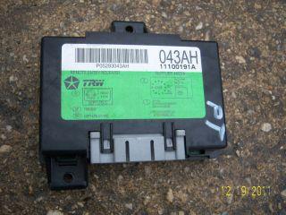 Steuergerät 043AH 11100191A Chrysler PT CRUISER 2,0 104 KW 141KW