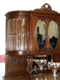 anrichten und vitrinen antik