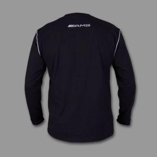 Neu MERCEDES AMG Langarm T Shirt Polo Gestickt S M L XL 2XL 3XL 4XL