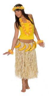 Bastrock mit Bananen Party Hawaii Bananenrock
