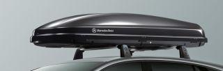 Original Mercedes Benz 450 Liter Ski Box Urlaub Dachbox XL Schwarz