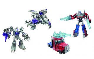 Hasbro Transformers Prime Voyager Optimus Megatron Autobot Decepticon