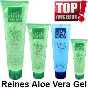 Aloe Vera Gel 99,5% rein Apres sun Sonne AYURVEDA Wellness Hautpflege