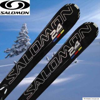 Salomon 24 Hours Speed Race Ski länge 151 mit Salomon Z 10 Bindung 19