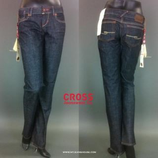Cross Jeans Carmen 409 014 mittelblau, gerader Schnitt, mittlere