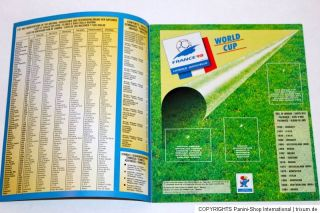 Panini WC WM France 98 1998 – KOMPLETTSATZ COMPLETE SET + Leeralbum