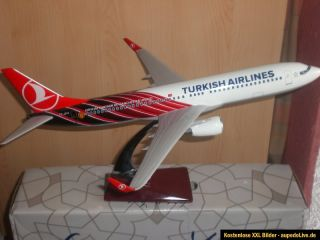TURKISH AIRLINES Boeing B737 800 WL Resin1:100 Limited Edition