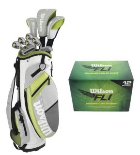 WILSON ULTRA Womens Ladies Right Handed Complete Golf Club Set w/Bag