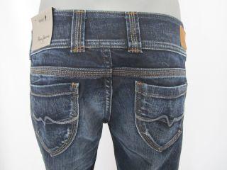 Pepe Jeans Slinky Damen Hose dunkelblau Gr.W27/L32 neu