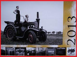 Traktor Schlepper Trekker Kalender 2013 Lanz Bulldog Ursus Eicher