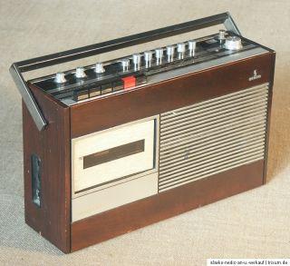 Kofferradio, altes Radio, defekt, Siemens Trabant RT 14 mit Kasetten
