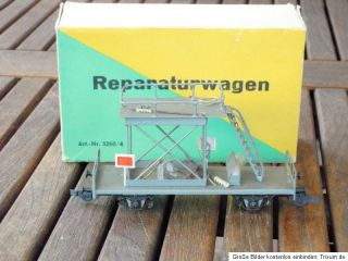Dahmer DDR Reparaturwagen u.a. für Oberleitung grau DR Ep.3/4 KKK und