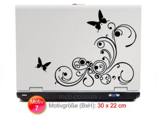 Laptop Sticker Notebook Aufkleber W747 Netbook Apple Macbook pro AMD