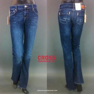 Cross Jeans Carmen 409 108 Intensive Dark Blue gerader Schnitt, mittl