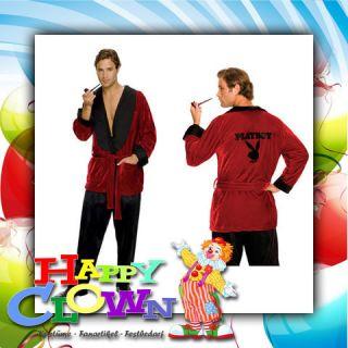 Playboy Hugh Hefner Kostüm ( Karneval, Fasching, Theater, Playboy