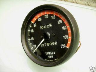 TACHO INSTRUMENTE / VERY NICE SPEEDOMETER SPEEDO TX 750