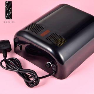 Fraulein 38 Black 220V 12W Nail Art LED Gel Lamp light Soak off gelish