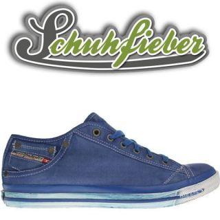 Diesel Magnete Exposure Low I Men   Schuhe Sneaker   Classic Blue