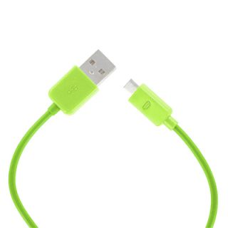 EMPIRE Glow Silicone Skin Case Cover+Green USB+Screen Guard for HTC