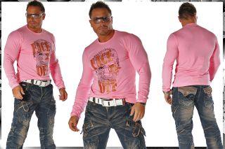 MeGaTrenDy ClubWeaR SweAT LongSleeve Shirt Gr S 756