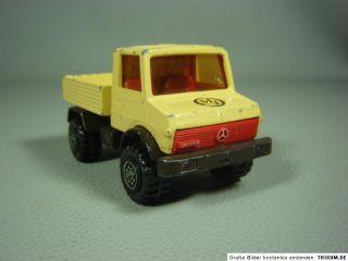 Mercedes Benz MB Unimog U 1500 Matchbox Super Kings K 30 1978 ca. 1:50