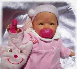 Sweet *JOY ANN* Reborn Reallife Baby Babypuppe Puppe sucht eine Mami