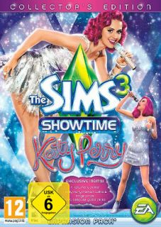 Die Sims 3 Showtime * Katy Perry Collectors Edition * PC Spiel NEU