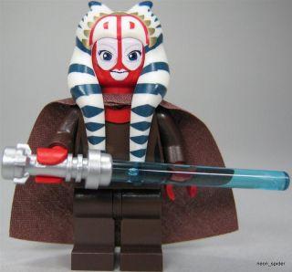 LEGO Star Wars Figur Jedi Shaak Ti (aus dem Bausatz 7931) mit