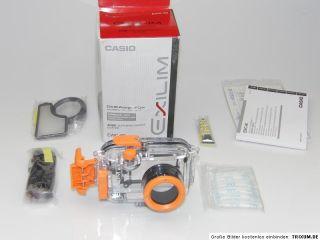 Casio EWC 90 Unterwassergehäuse für Casio Exilim EX Z1050 EX Z1080