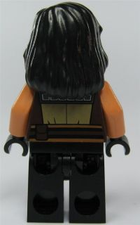 LEGO Star Wars Figur Jedi Quinlan Vos (aus Bausatz 7964) mit