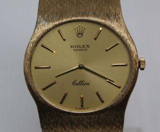 Rolex Geneve Cellini Handaufzug 18K Gold 750 Garantie