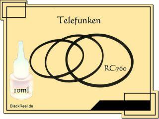 Telefunken RC 760 RC760 Service Kit 2 Radio Recorder