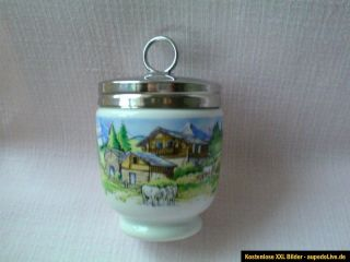 Royal Worcester EGG CODDLER Mini Fondue Muster, im Box,groß