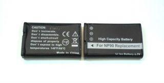 Akkus f. Casio Exilim EX H20G H10 H15 FH100 NP 90