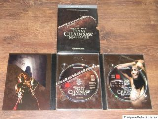 DVD FSK 18  Texas Chainsaw Massacre  2 DVD Premium Edition   Horror