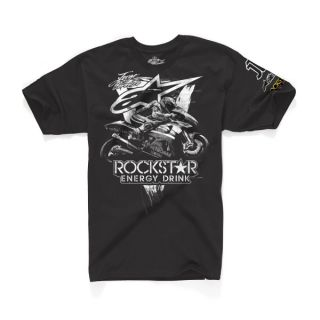 Alpinestars T Shirt Aggressive Jorge Lorenzo black schwarz m l xl xxl