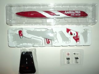 Boeing 757 200 America West Arizona Cardinals 1200 Resin Hogan Model