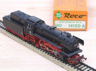 Roco 14120A Dampflok mit Tender Baureihe 23 der DB / MäAC / OVP