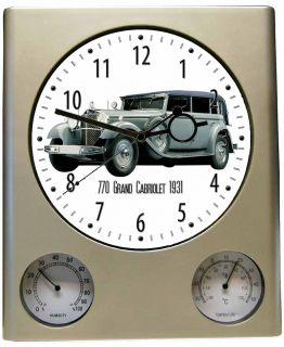 Oldtimer Motiv Mercedes Benz 770 Grand Cabriolet silber 1931