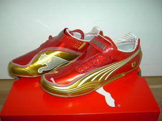 Schuhe Scuderia Ferrari Tech by Puma Rot Gold
