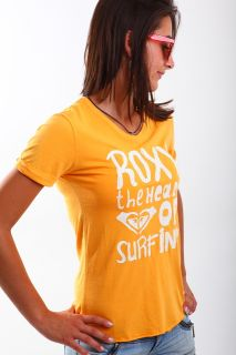 Sale  40% Gr.M38 Roxy Top T Shirt Je774 burnt orange S12 neu