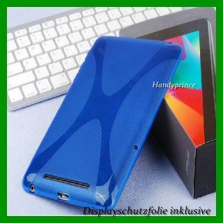 Schutzhülle Asus Google Nexus 7 TPU Silikon X Line Case Cover Tasche