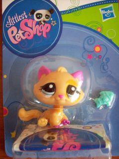 LITTLEST PET SHOP 2406 , Katze mit kleinem Fisch , LPS 38561