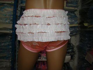 3x Neu Adult Baby PVC Windelhose Inkontinenz Slip Diapers #P005